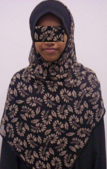 New~1pc Kuwaiti Hijab~Amira~Mona~Muslim/Islamic Head Scarf~Tudung~Kleidung (ID 3361-BC)