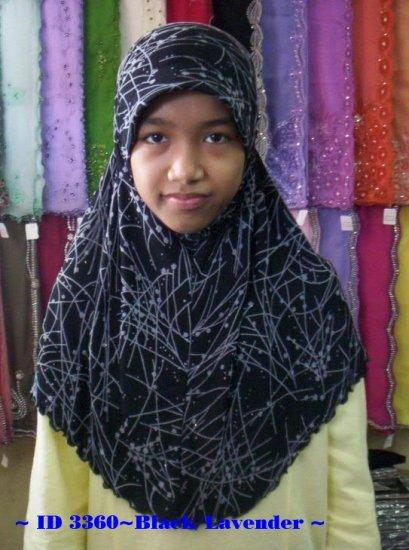 New~1pc Amira Hijab~Kuwaiti~Mona~Muslim/Islamic Head Scarf~Tudung~Kleidung (ID 3360-B)