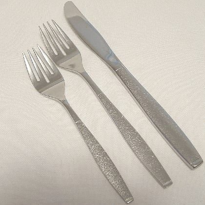 3 Pieces Oneida 1881 Rogers Stainless Flatware Montina Indio Free Shipping