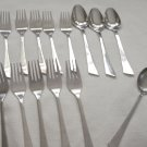 14 Pieces Stanley Roberts Stainless Flatware  Cherish Free Shipping