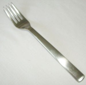 1 Salad Fork Spoon Ginkgo Robert Welch Stainless Flatware Norse Glossy Free Shipping
