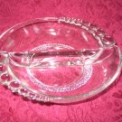 DUNCAN MILLER TEARDROP DIVIDED NUT or RELISH DISH
