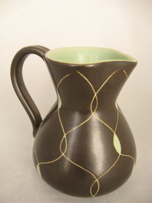 Steuler Keramik Germany Creamer/ Pitcher-Mid-Century Modern Art Pottery