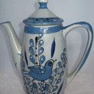 Ken Edwards El Palomar Tonala Mexico Coffee Pot Bird / Butterfly
