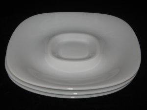Block Langenthal Transition White Gulotta lot 3 saucers