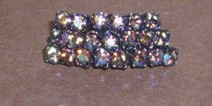 Vintage Sparkle Rhinestone Pin