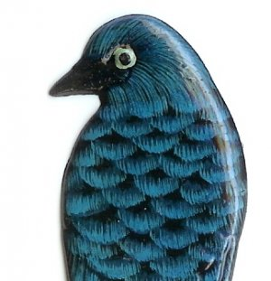 Blue Bird Book Marker