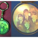 Beatles Holograph Hologram Key Ring key Chain FREE SHIPPING