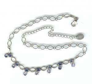 Claire�s Fashion Jewelry Necklace Blue FREE SHIPPING