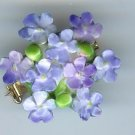 floral pin Stafford Shire pin brooch