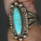 turquoise ring sterling free shipping