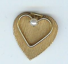 heart on heart pendant vintage 12kg