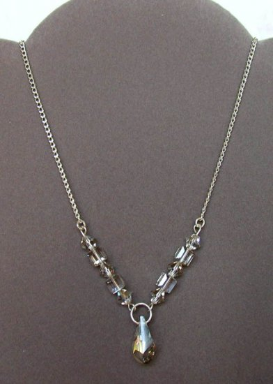 Necklace - CRYSTAL ELEGANCE