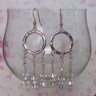 Crystal Hoops Crystal AB