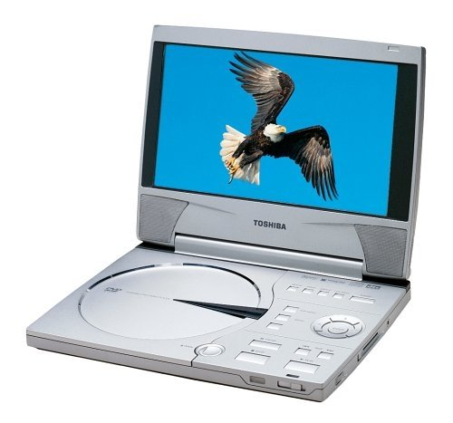 "Toshiba Sdp2000 Portable Dvd Player With 9"" Screen"