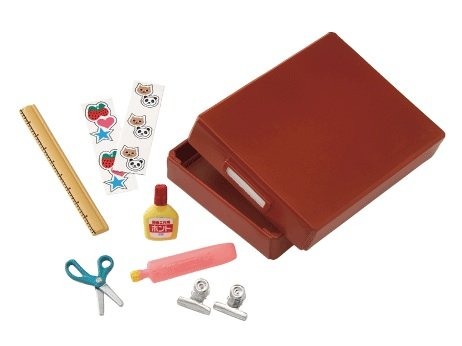 RE-MENT miniature children stationary set 8