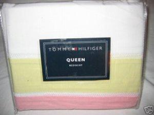 Tommy Hilfiger FLORABUNDANCE Queen Bedskirt NIP