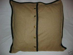 Ralph Lauren RODEO DRIVE Tan Deco Pillow NWT