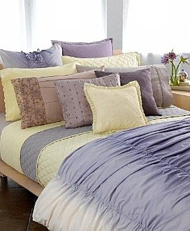 DKNY SHEER BLISS Purple Hourglass Full Queen Quilt