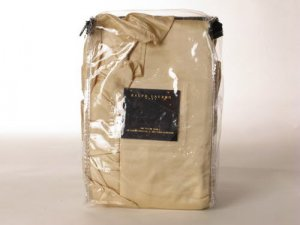 Ralph Lauren Galatee silk Euro Sham Wht Label $360