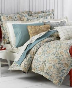 Ralph Lauren SPA SEASIDE RETREAT 3P Queen Duvet Shams