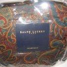 Ralph Lauren ASCOT PAISLEY Queen Bedskirt 1stQu NIP