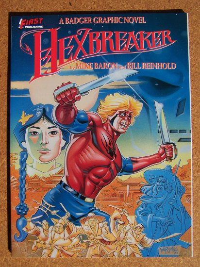 Hexbreaker: A Badger Graphic Novel