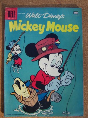 Walt Disney's Mickey Mouse #59 (Dell) Fine
