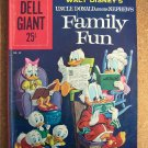 Dell Giant #38 Walt Disney's Family Fun