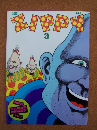 Zippy #3 (Last Gasp,1980)