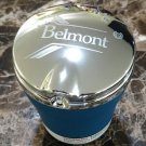 Belmont Canadian Cigarettes LED Flip Top Chrome and Plastic Ashtray