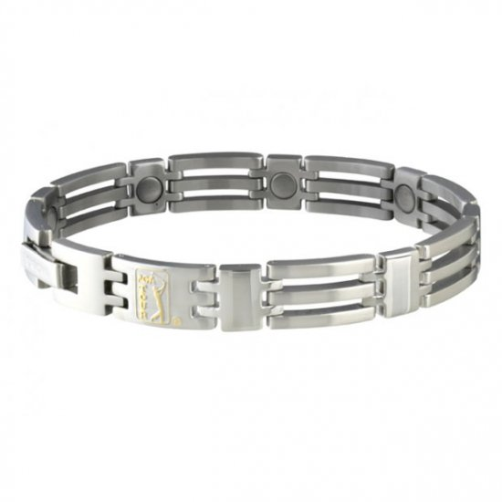 Sabona 121 PGA TOUR Golf Stainless Magnetic Bracelet  ***FREE SHIPPING***