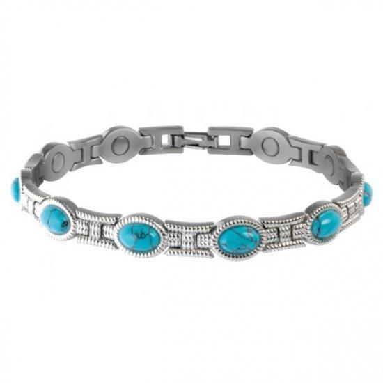 Sabona 220 Lady Turquoise Magnetic Bracelet