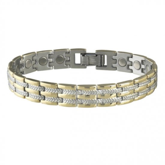 Sabona 326 Executive Regal Duet Magnetic Bracelet  ***FREE SHIPPING***