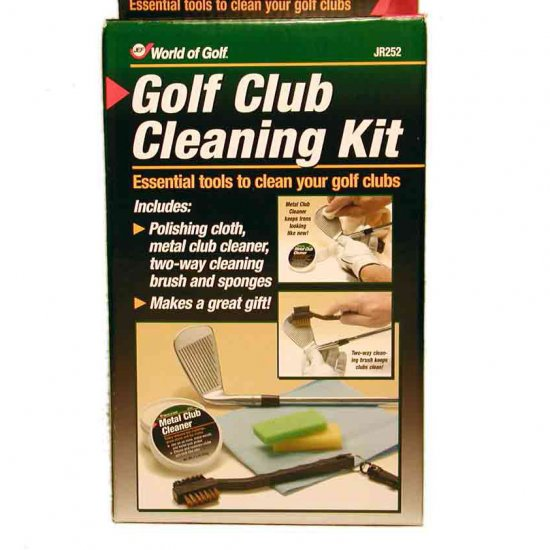 GOLF CLUB BASIC CLEANING KIT