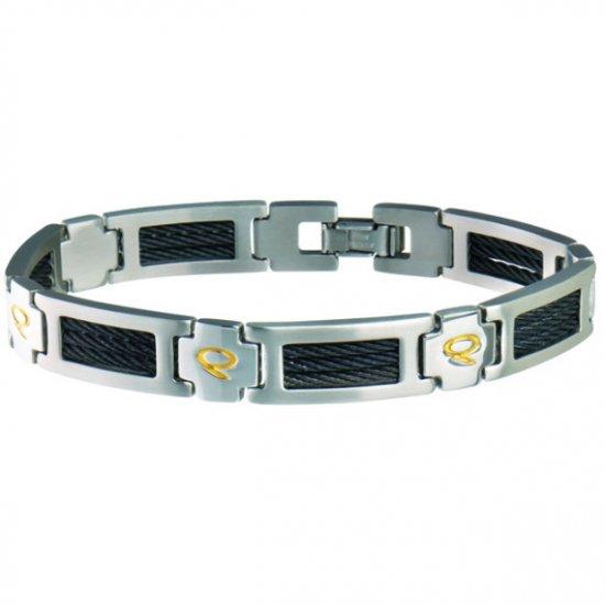 Sabona 131 Men's Q-Link Magnetic Bracelet - SIZE MEDIUM
