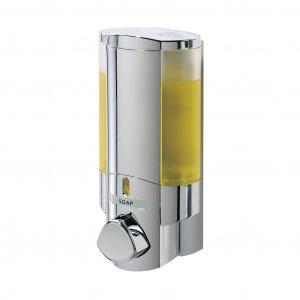 Bathroom Soap Dispensers on Aviva Shower Soap Shampoo Dispenser I   Chrome