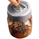 Digital Coin-Counting Money Jar