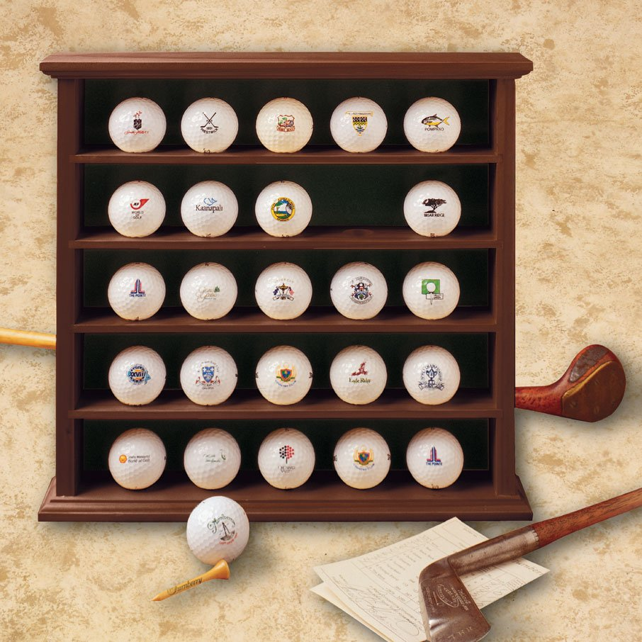 GOLF 25 Ball Display Cabinet