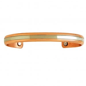 Sergio Lub 748 TWO WORLDS Ladies Magnetic Copper Bracelet - SIZE MEDIUM