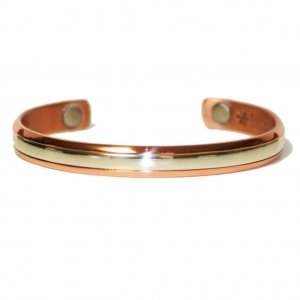 Sergio Lub 750 - Magnetic STERLING IN COPPER Bracelet - SIZE XTRA LARGE