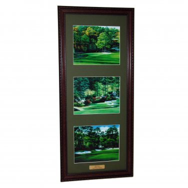 Augusta National Amen Corner Vertical Framed Print 14 x 28