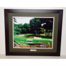Augusta National Hole #16 Framed Print 24 x 30