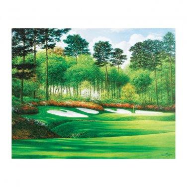 Augusta National Hole #13 Canvas Print 24 x 30 Unframed