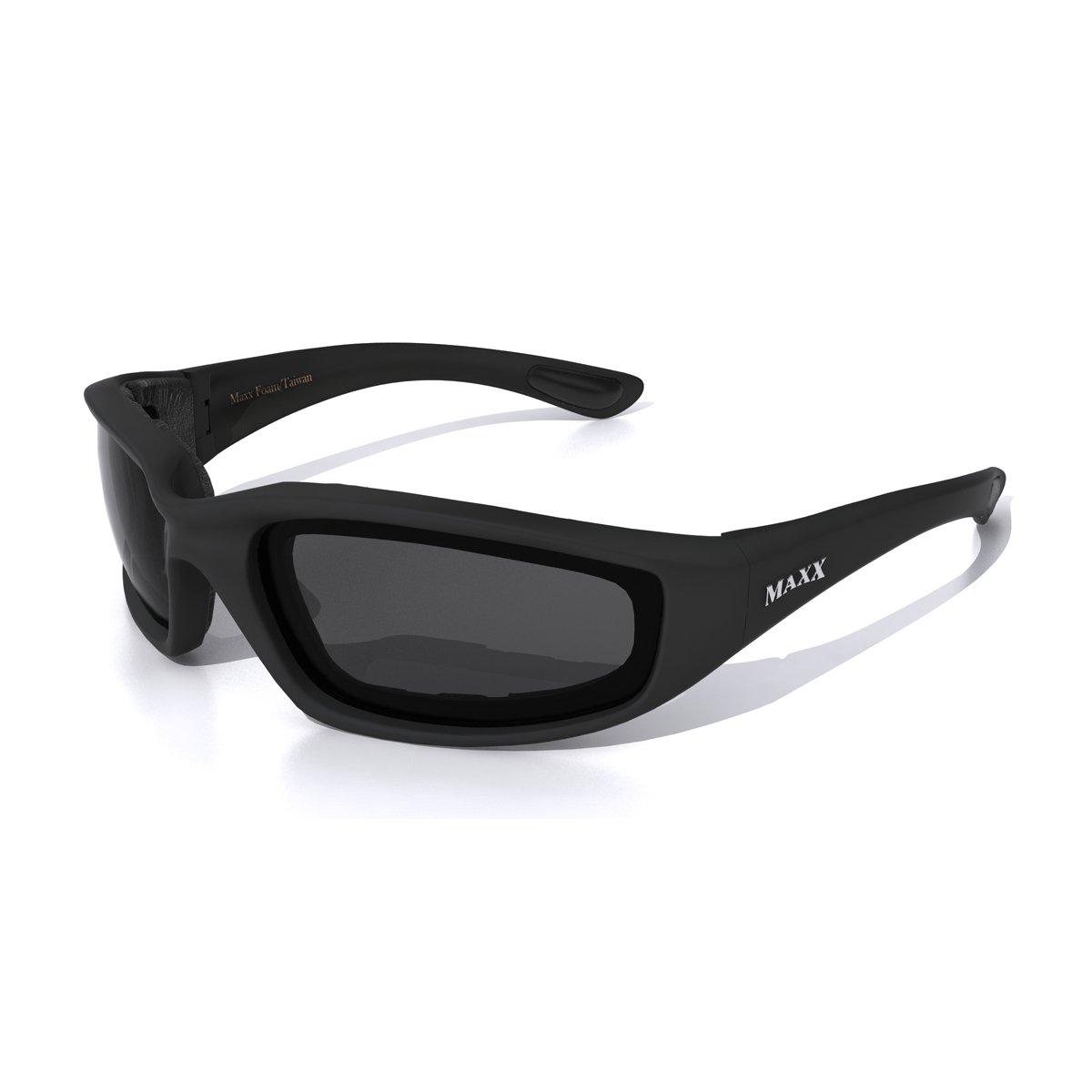 Maxx FOAM Motorcycle SMOKE Sunglasses