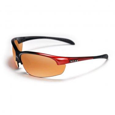 Maxx DOMAIN Red HD Golf Sunglasses