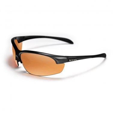 Maxx DOMAIN Black POLARIZED HDP Golf Sunglasses