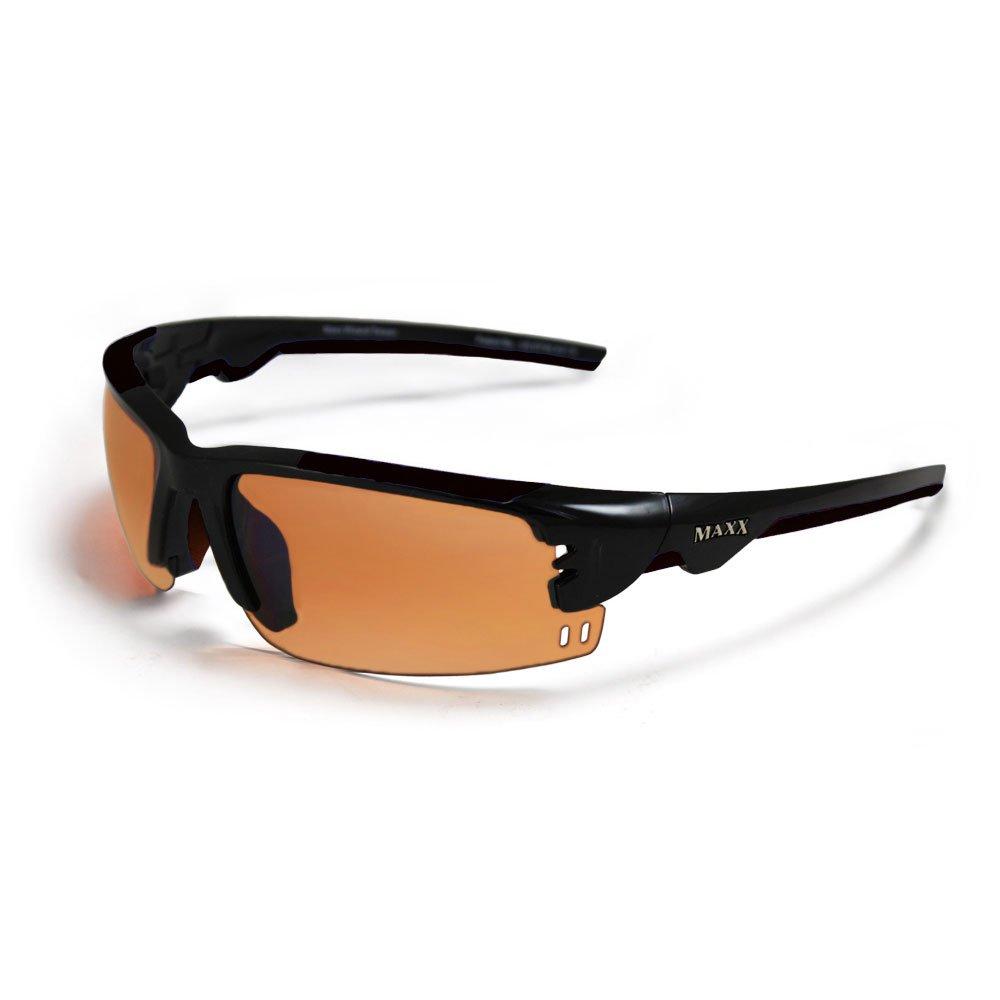 Maxx WIZARD Black HD Golf Sunglasses