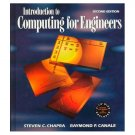 Introduction To Computing for Engineers, 2nd Edition, Chapra/Canale; ISBN: 0-07-911609-4