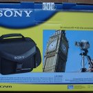 Sony Handycam Camcorder Accessory Kit ACC-FP50A Case & Battery; NEW